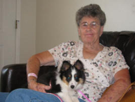Pic of Mom and Sassy (2)